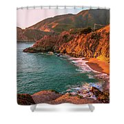 California Dreaming Shower Curtain