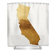 California Gold- Art By Linda Woods Shower Curtain