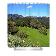 California Highlands Shower Curtain