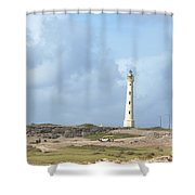 California Lighthouse Shower Curtain