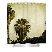 California Palms Shower Curtain