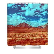 California Postcards One Shower Curtain