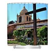 California Spanish Mission Shower Curtain
