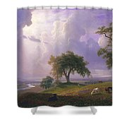 California Spring, C. 1875 Shower Curtain