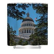 California State Capital Shower Curtain