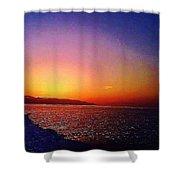 California Sunset 4.2008 Shower Curtain