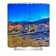 California Wilderness Panorama Shower Curtain