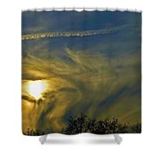 California's Sunrise Shower Curtain