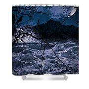 Caliginosity Shower Curtain