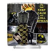 Call Batman Shower Curtain