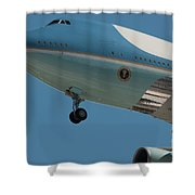 Call Sign Shower Curtain