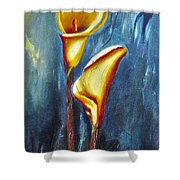 Calla Lilly Part C Shower Curtain