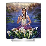 Calla Lily - Be Still Shower Curtain