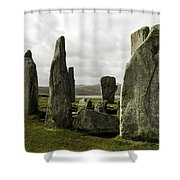 Callanish Stones Shower Curtain