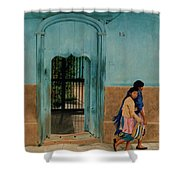 Calle Hermanos Dominquez Shower Curtain