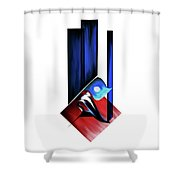 Calligraphy 102 2 Shower Curtain
