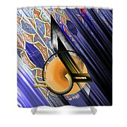 Calligraphy 103 3  Shower Curtain