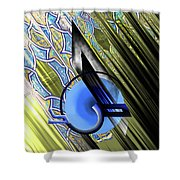 Calligraphy 103 4 Shower Curtain