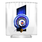 Calligraphy 104 2 Shower Curtain