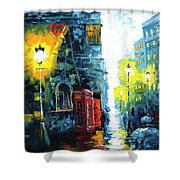 Calling Home Shower Curtain