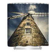Callington Mill In Oatlands Tasmania Shower Curtain