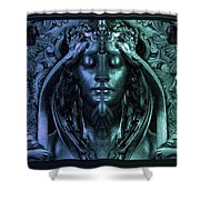 Calliope - The Superior Muse Shower Curtain