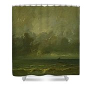 Calm Before The Storm 1870 Shower Curtain