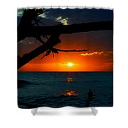 Calm Between The Storms Shower Curtain