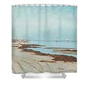 Calm Evening Shower Curtain