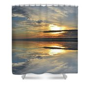 Calm Morning Two  Shower Curtain