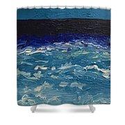 Calm Sea Shower Curtain