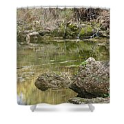 Calm Waters Scenery Shower Curtain