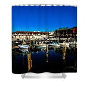 Calm Waters V2 Shower Curtain