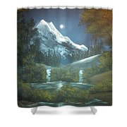 Calming Night Shower Curtain