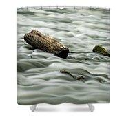 Calming Rapids  Shower Curtain