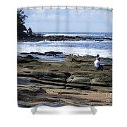 Caloundra Coast. #1 Shower Curtain