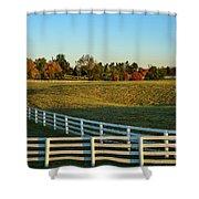 Calumet Fencing Shower Curtain