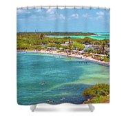 Calusa Beach Shower Curtain