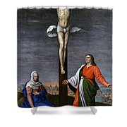 Calvary  Shower Curtain