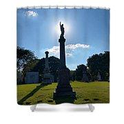 Calvary Catholic Cemetery Shower Curtain