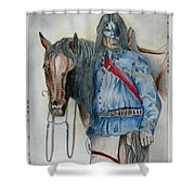 Calvary Scout Shower Curtain