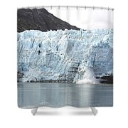 Calving Glacier Shower Curtain