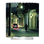 Camaguey Street Shower Curtain