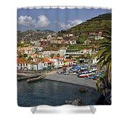 Camara De Lobos Madeira Shower Curtain