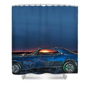 Camaro And Chopper Shower Curtain