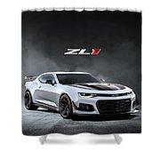 Camaro Thunder Shower Curtain