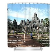 Cambodia 2 Shower Curtain