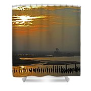 Cambodian Sunsets 1 Shower Curtain