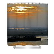 Cambodian Sunsets 2 Shower Curtain