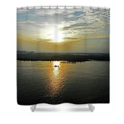 Cambodian Sunsets 3 Shower Curtain